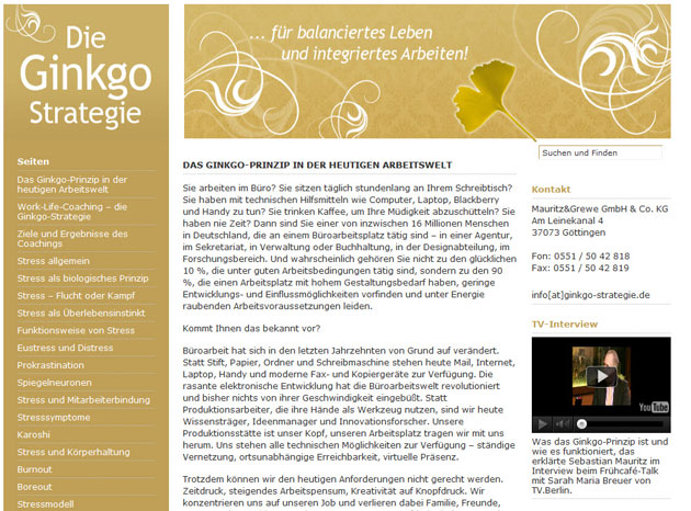 Ginkgo-Strategie