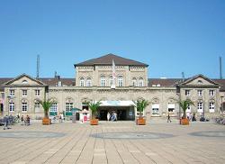 Der Bahnhof in Göttingen
