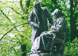Das Gauß-Weber-Denkmal